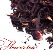 Stock Photo: Flower tea