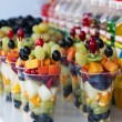 Fruit pieces — Stockfoto