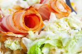Salad macro — Stock Photo