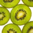 Kiwi slices — Stockfoto