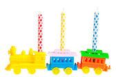 Birthday kaarsen — Stockfoto