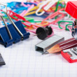 Stock Photo: Stationary tools