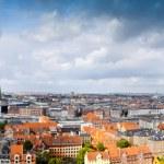 Large panorama of Copenhagen, Denmark — Stock Photo #7124031