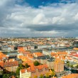 Large panorama of Copenhagen, Denmark — Stock Photo