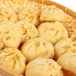 Chinese steamed dumplings — Stock Photo