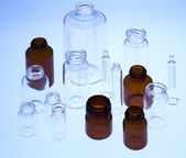 Pharmaceutical vials — Stock Photo