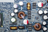 Electronic circuit background — Stockfoto