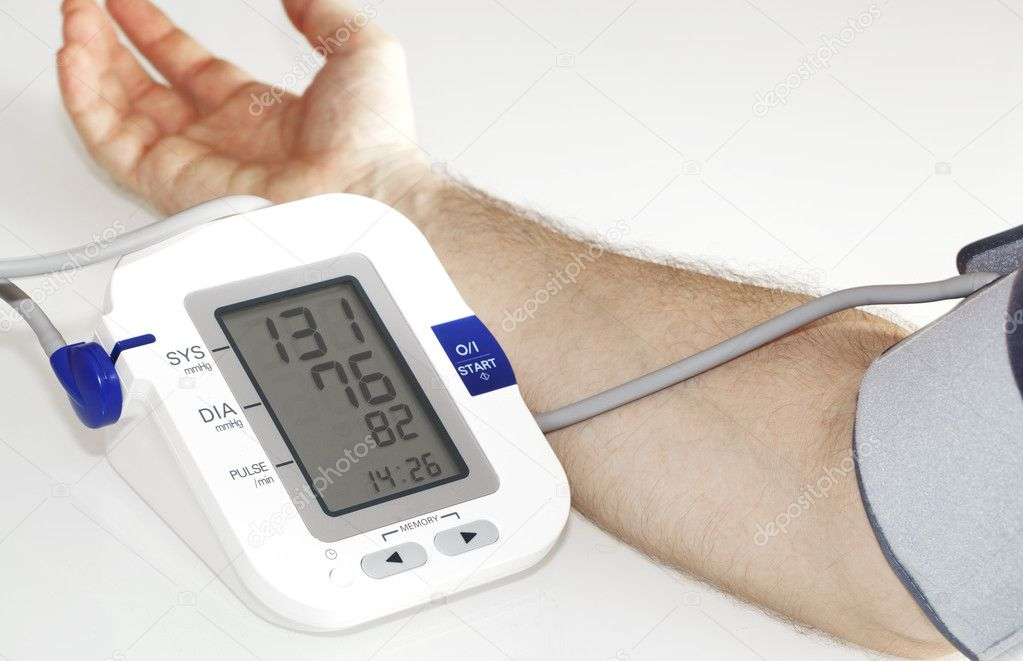Blood pressure  — Stock Photo #6884927