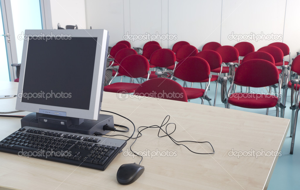 Meeting room — Stock Photo #7508821