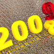New year 2009. 3d. - Stock Photo
