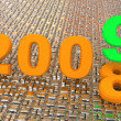 New year 2009. 3d. — Stock Photo