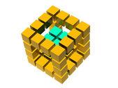 Muchos bloques — Foto de Stock