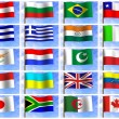 Collage from flags — Stock Photo #7824238