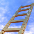 Ladder in the sky — Stock Photo #7824922