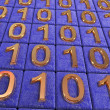Stock Photo: Binary code.