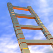 Ladder in the sky — Stock Photo #7828915