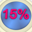 Percent — Stock Photo