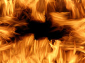 Flames or fire — Stock Photo