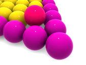 Billiard balls. — Stock Photo
