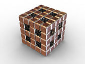 Box. 3d — Stock Photo