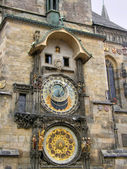 Ancient watches. Prague. — Zdjęcie stockowe