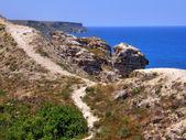 Sea coast. Crimea. — Stock Photo