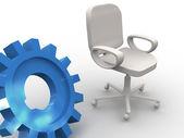 Sedia da ufficio. — Foto Stock