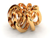 Torus knot — Stock Photo