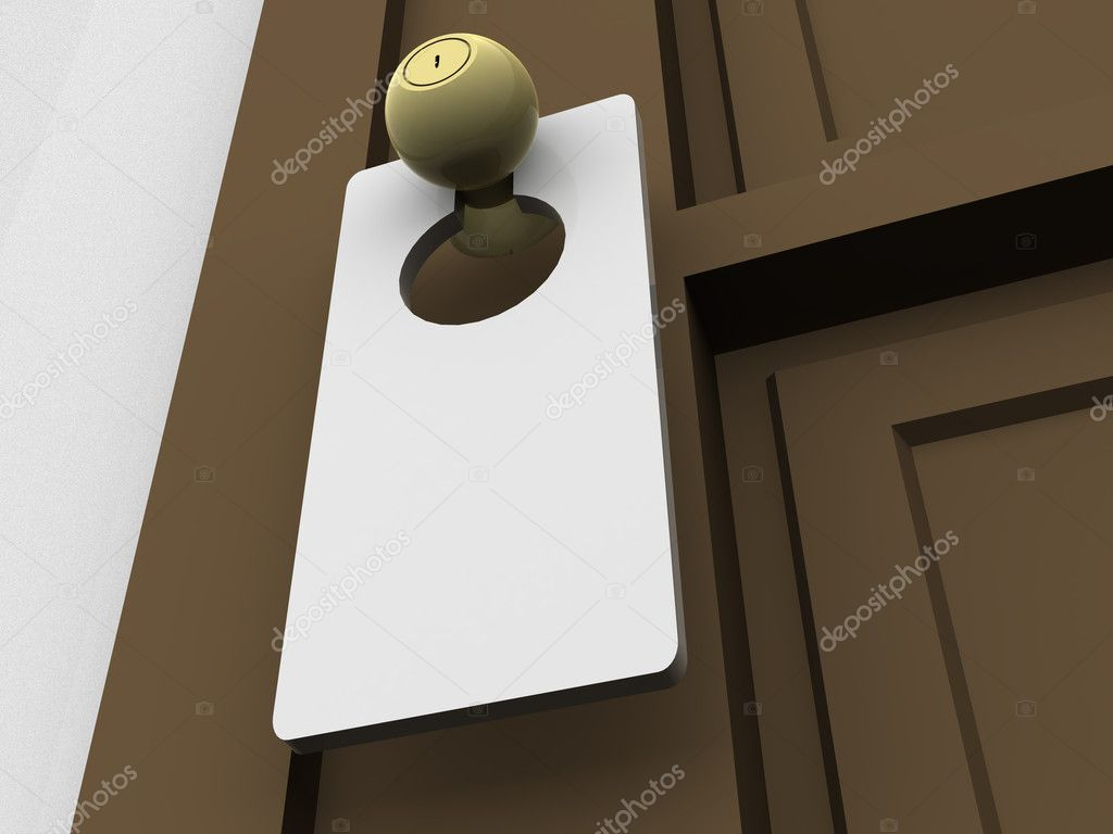 Door. 3d — Stock Photo #7829926