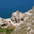 Sea coast. The western Crimea. Tarhankut - Stock Photo