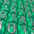 Binary code. - Stock Photo