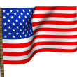 Stock Photo: Flag the USA