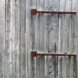 Old wooden gate. — Foto Stock