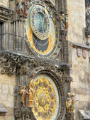 Klockor. prag. tjeckien — Stockfoto