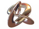 Torus knot — Stock Photo