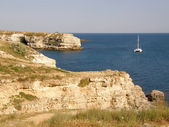 Sea coast. The western Crimea. Tarhankut — Foto de Stock