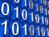 Binary code. — Stockfoto