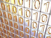 Binary code. — Stock Photo