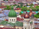 Lvov. západní ukrajina. — Stock fotografie