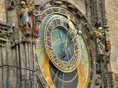Ancient watches. Prague. — Stock Photo