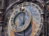 Ancient hours. Prague. — Foto Stock