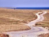 Steppe landscape. The western Crimea. — Stock Photo