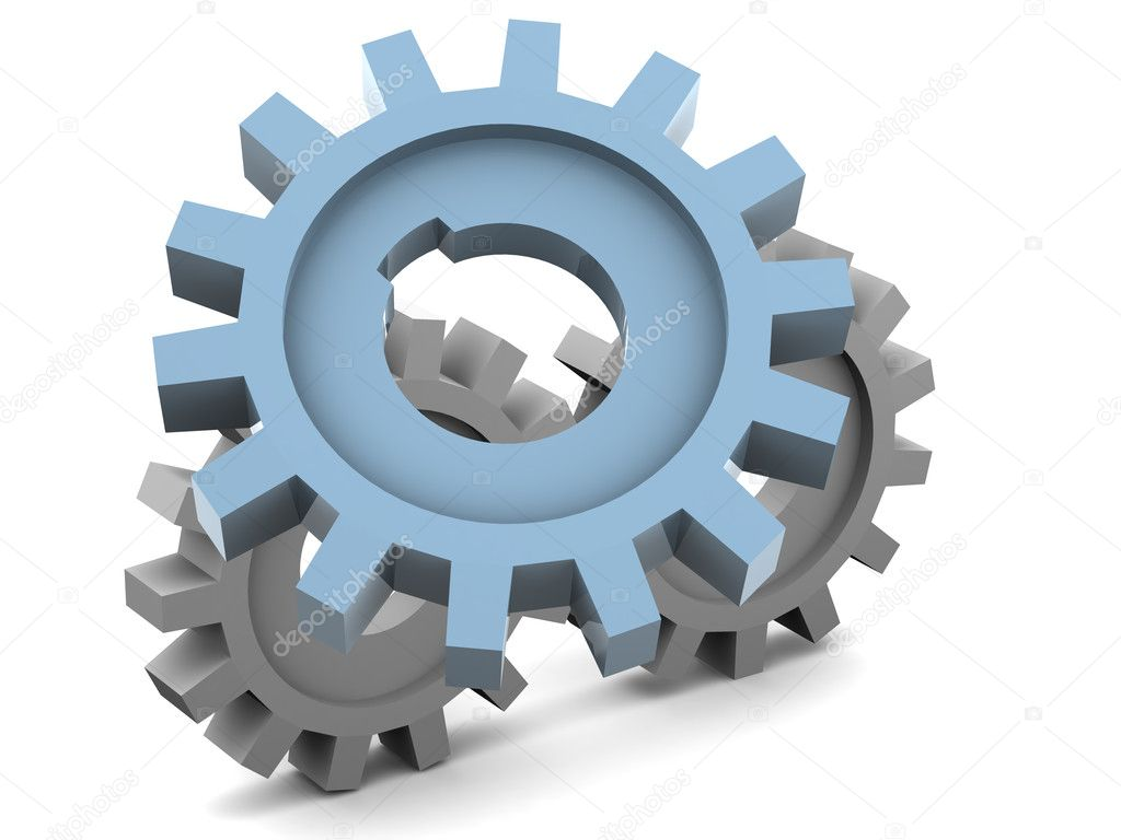 Gear. 3d — Stock Photo #7834396