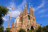 Sagrada Familia in Barcelona, Spain — Stock Photo