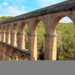 Roman aqueduct in Tarragona, Spain — Stock Photo