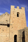 Tower in a castle of Loarre, Spain — Stock Photo
