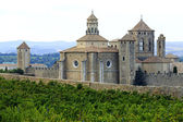 Monasterio de poblet, españa — Foto de Stock