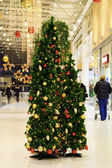 Christmas tree in a mall — Stock Photo