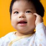Asian baby girl — Stock Photo