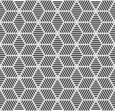 Naadloze geometrische patroon. — Stockvector
